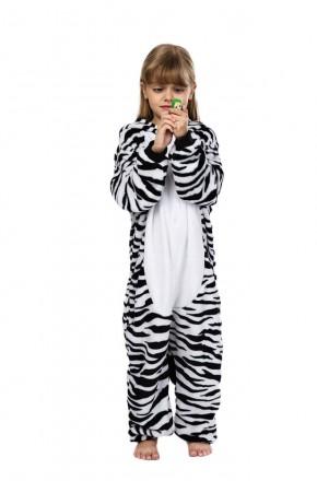 Кигуруми детский Зебра