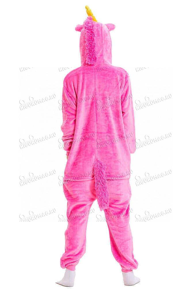 Кигуруми Розовый единорог - 7