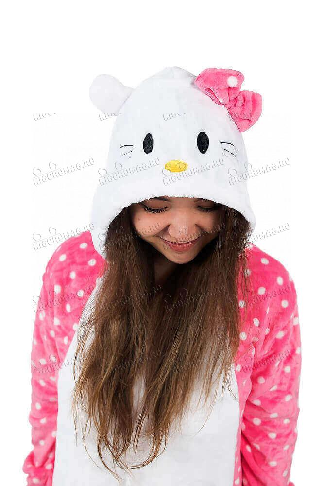 Кигуруми Hello Kitty в горошек - 6