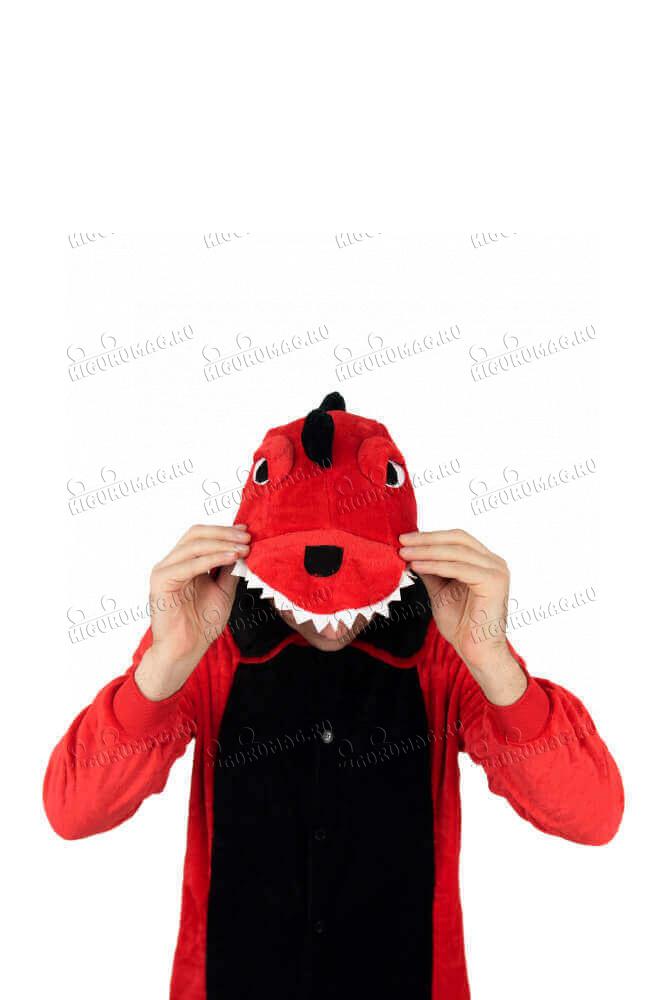 Кигуруми Динозаврик красный - 8