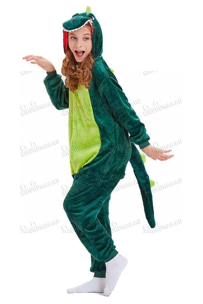 Кигуруми Зеленый динозавр - 3