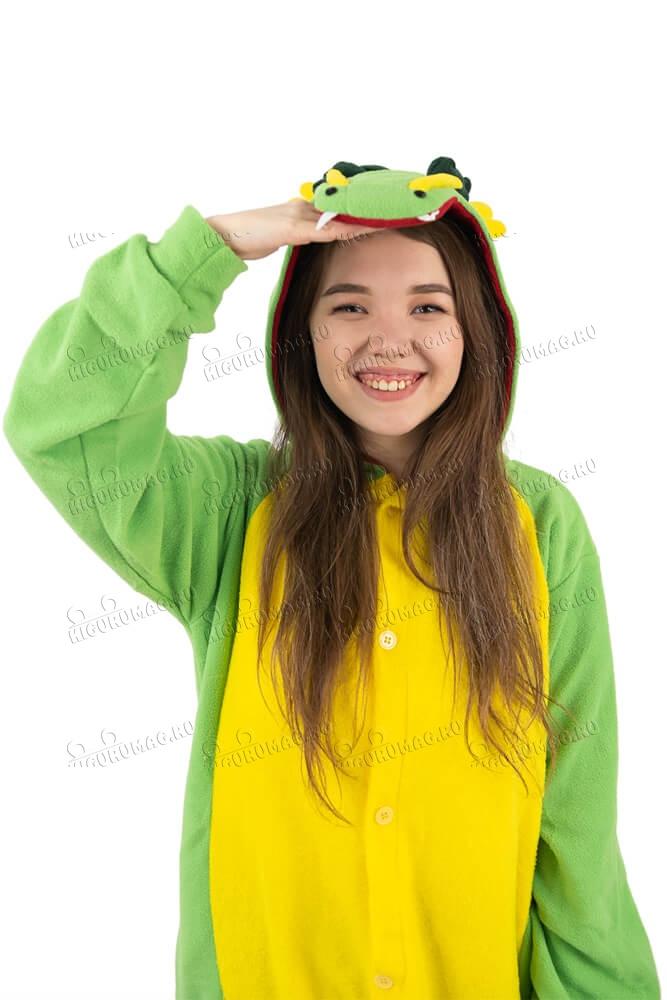 Кигуруми Дракон зеленый - 6