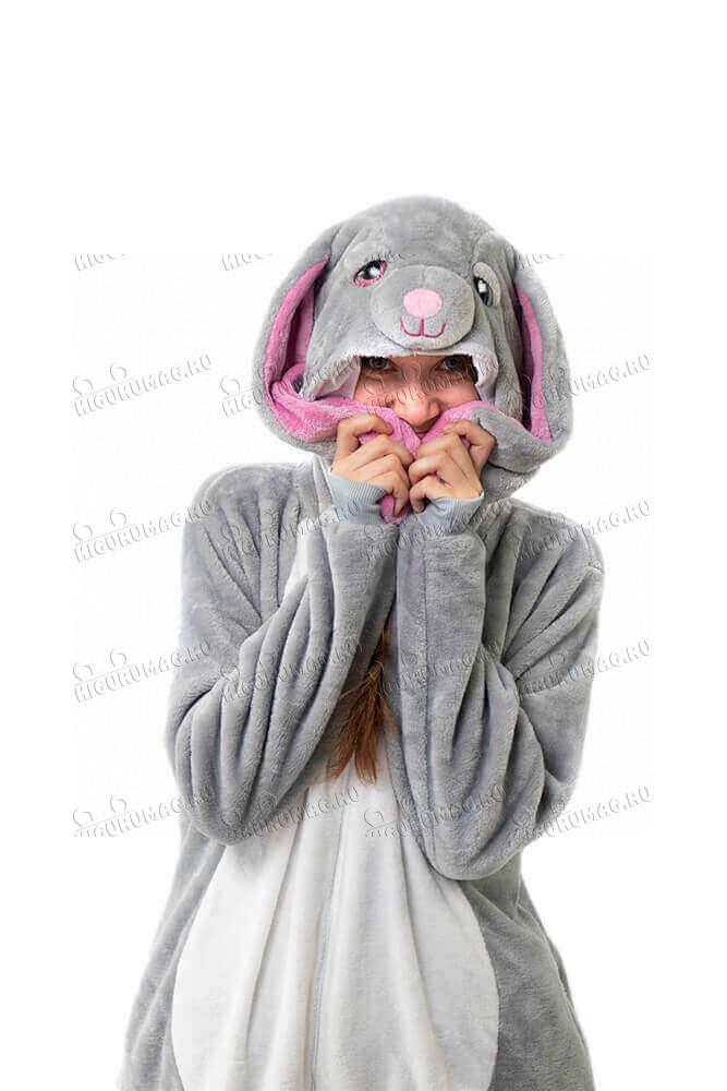Кигуруми Кролик, размер L (165-175 см) - 7