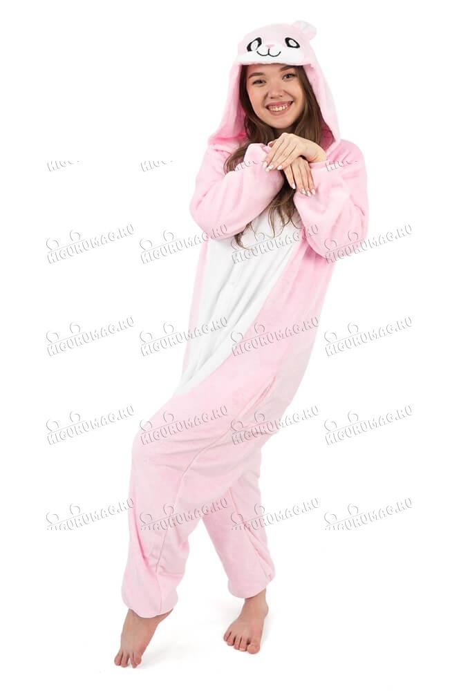 Кигуруми Розовый Кролик - 4