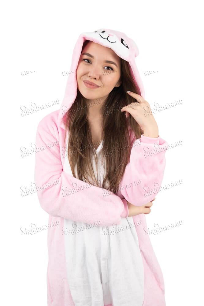 Кигуруми Розовый Кролик - 6