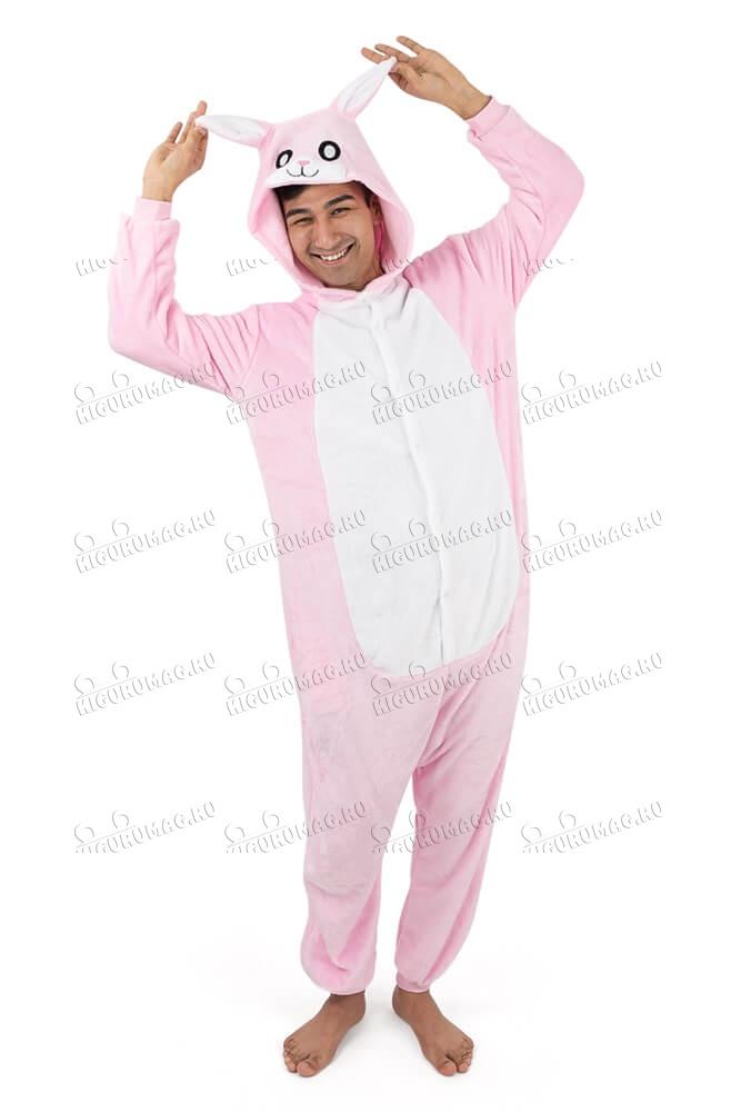 Кигуруми Розовый Кролик - 8