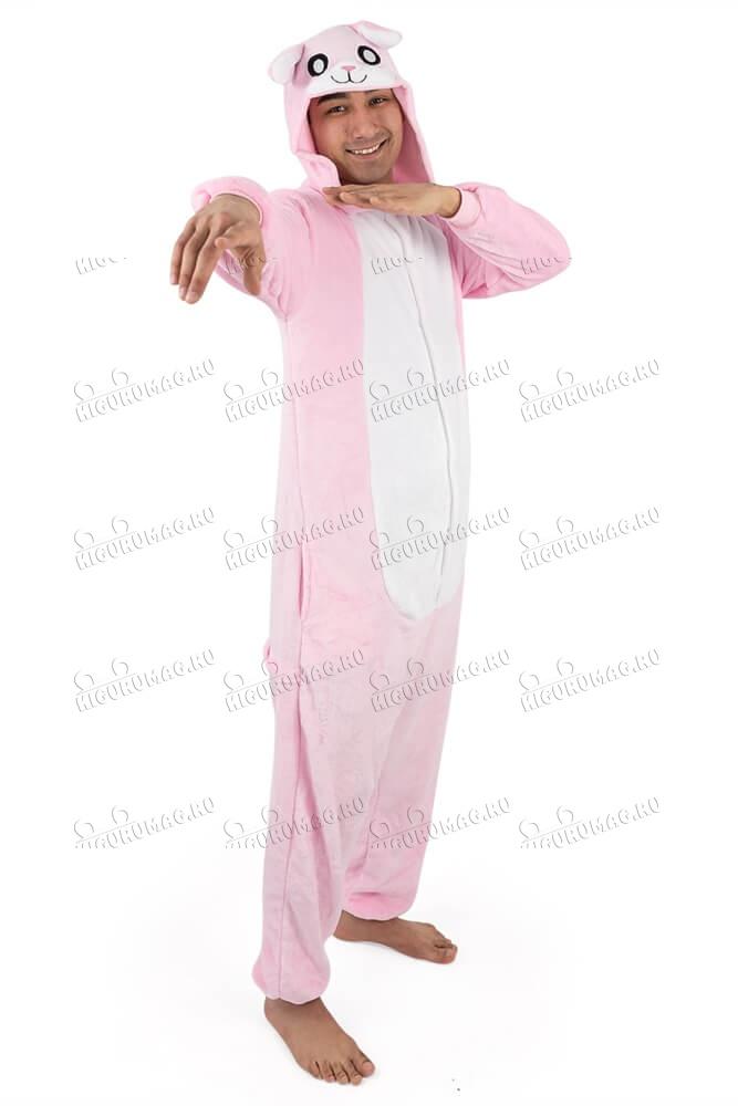 Кигуруми Розовый Кролик - 9