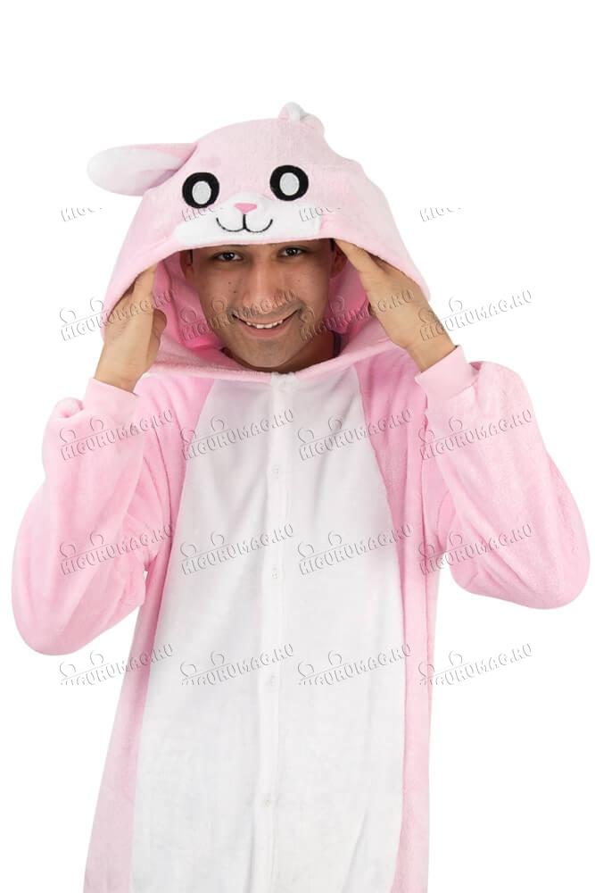 Кигуруми Розовый Кролик - 12