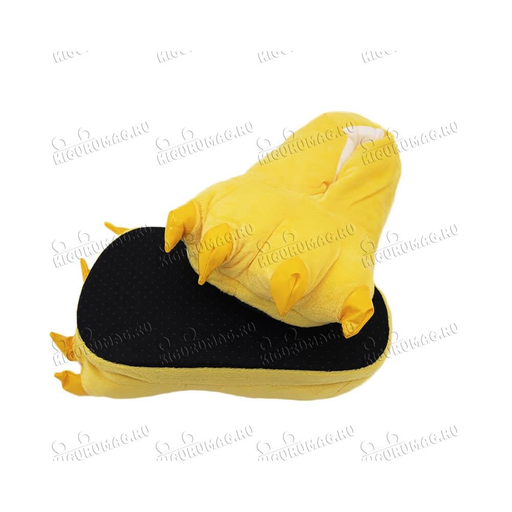 Тапки Лапки желтые M, 35-40 размер - 7