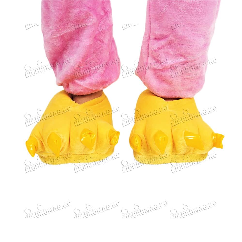 Тапки Лапки желтые M, 35-40 размер